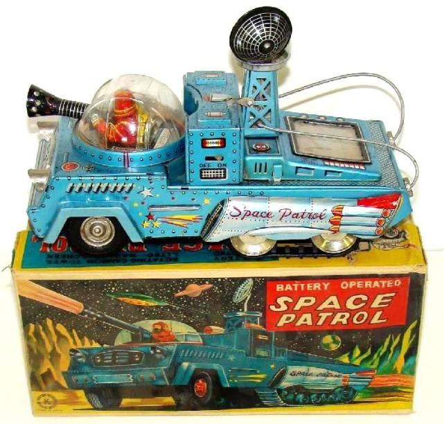 Vintage Japan Tin Toys : Vintage space toys wanted free appraisals identification