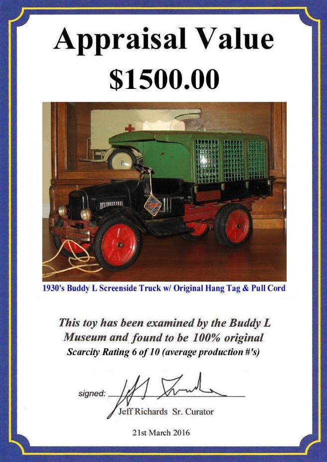 Buddy L Museum world's largest buyer of antque pressed steel toys, cars, trucks, vintage tin toy robots space cars, American Japan German Free antique toy appraisals buddy l trucks values facebook ebay buddy l trucks free info